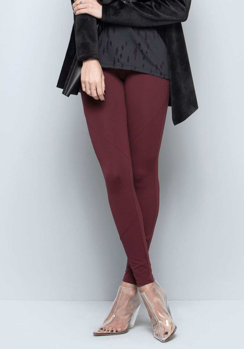Legging 306120 Bordo 03