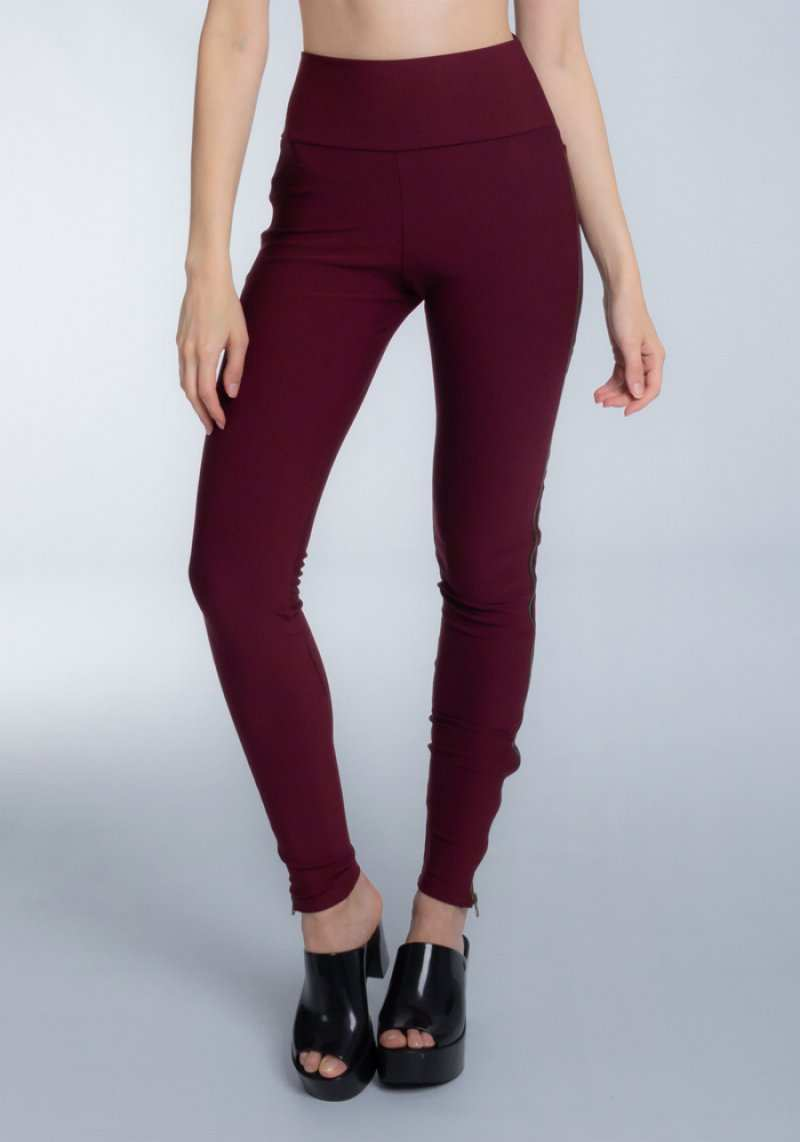 Legging 306125 Bordo 03