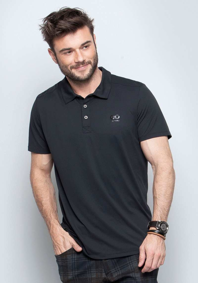 Camisa Polo Regular 214100 Preto