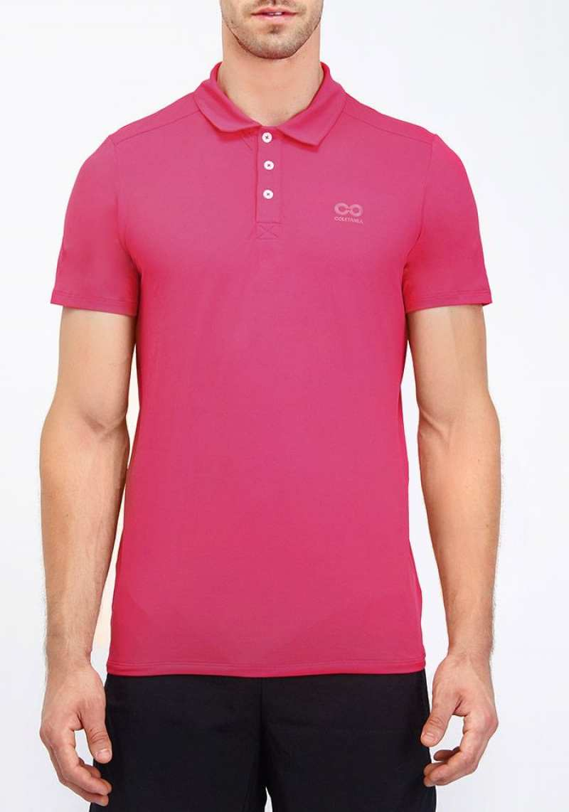 Camisa Polo Regular 214100 Rosa 02