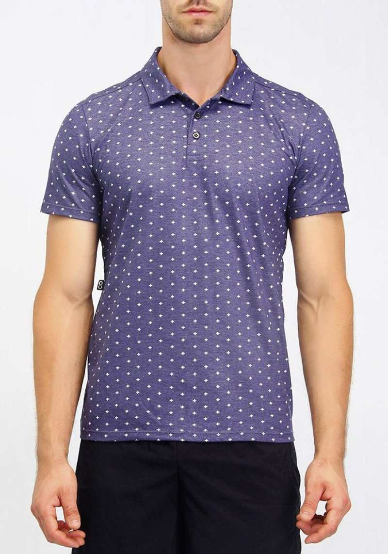 Camisa Polo Regular 214102 Azul 23