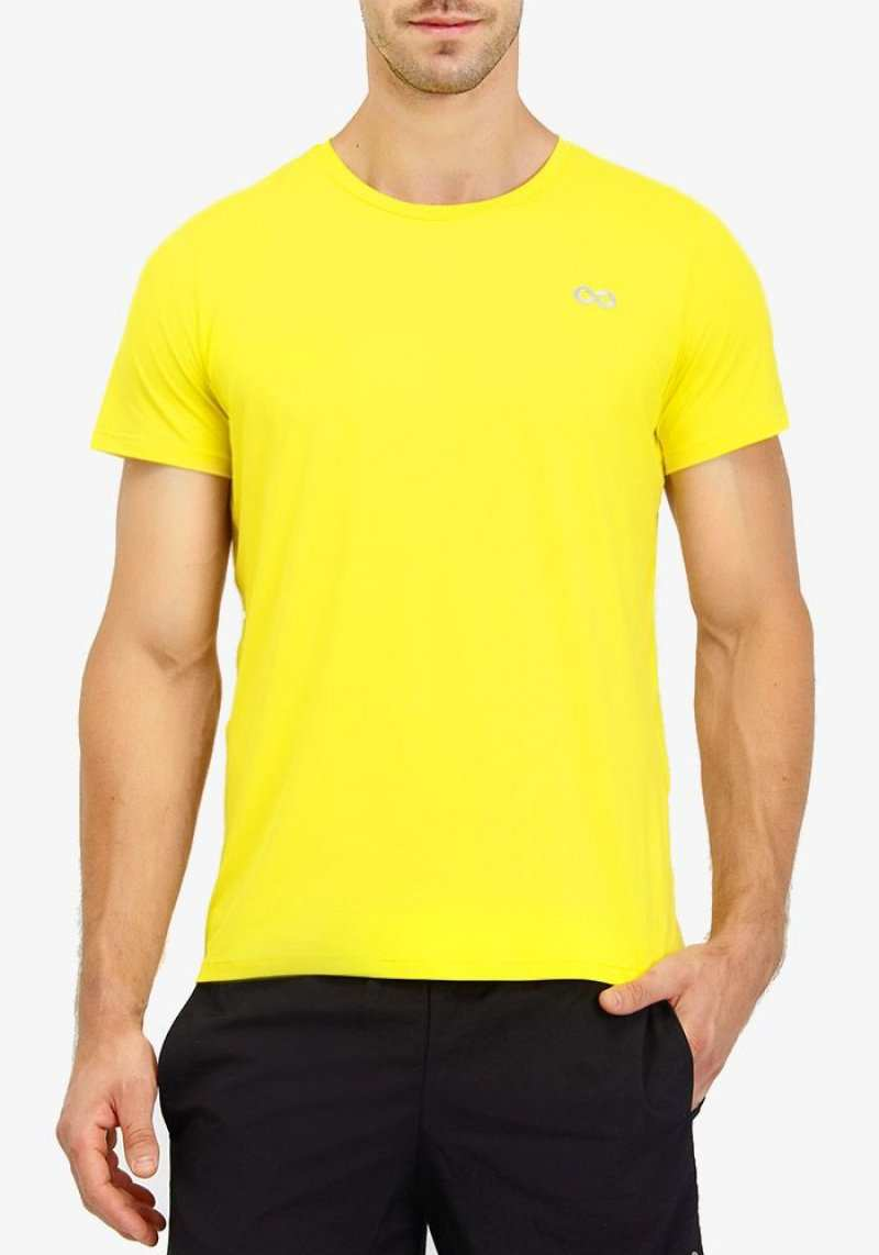 Camiseta Regular 201100 Amarelo 17