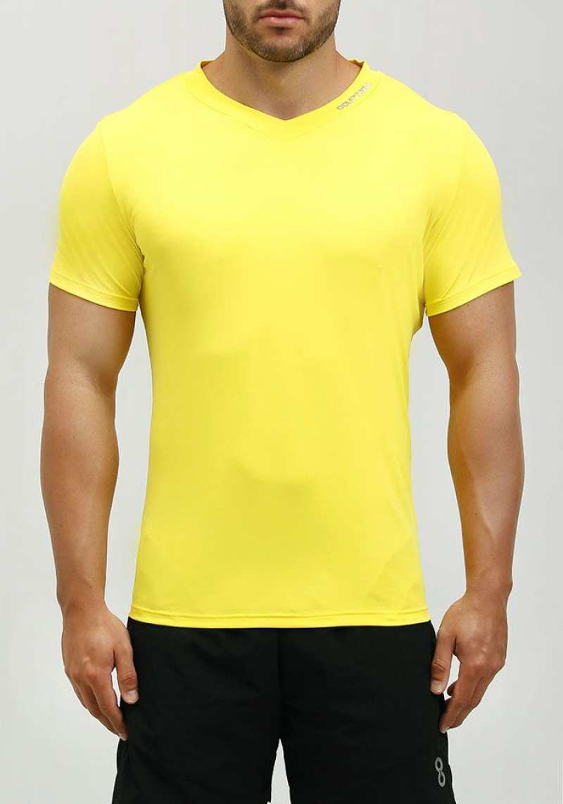 Camiseta Regular 201101 Amarelo 03